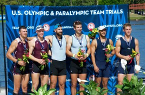 US Olympic Rowing Trials Champions Train at AES